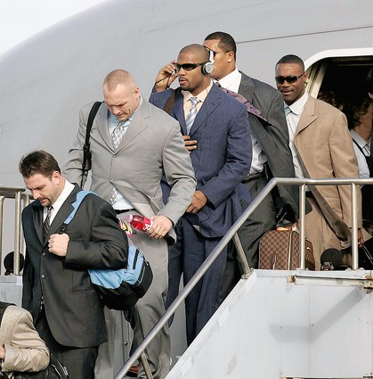 Bears Arriving In Miami