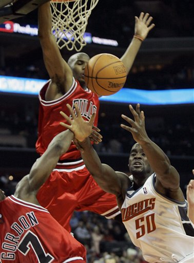 Bulls Lose to Bobcats, 100-85