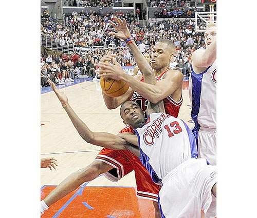 Bulls Struggle Against Clippers