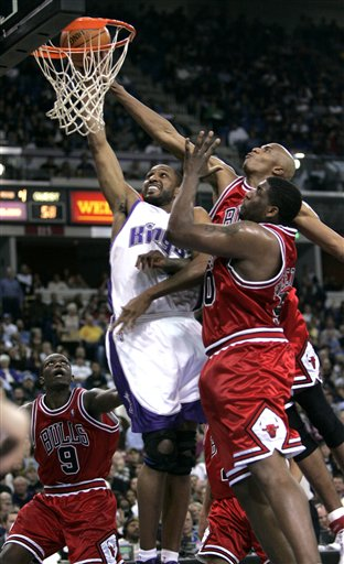 Bulls vs. Kings 2-8-07