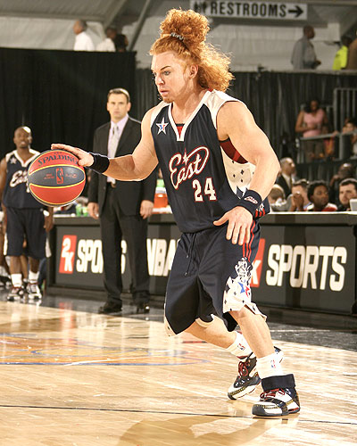 Carrot Top At 2007 NBA All Star Weekend