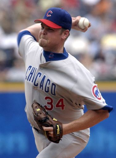 Cubs Pitcher Kerry Wood