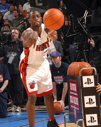 Dwayne Wade Wins Skills Contest at 2007 all star weekend