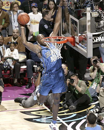 Dwight Howard Dunk at 200 All Star Slam Dunk Contest