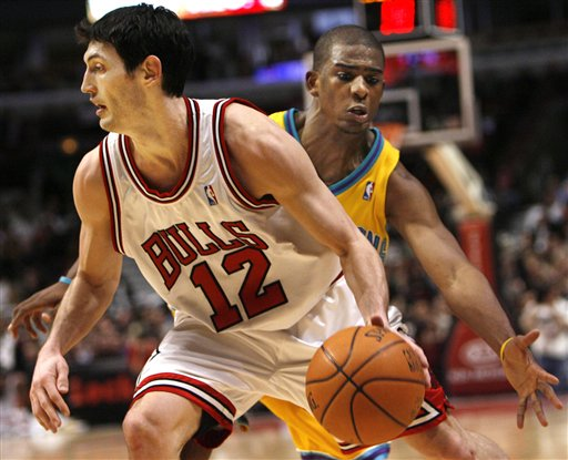 Chicago Bulls Kirk Hinrich Torches Hornets