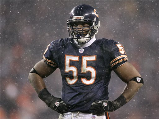 Lance Briggs Won't Play For The Bears
