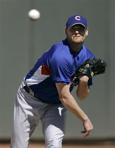 Wade Miller Competes For Cubs Fifth Starter Job In Spring Training