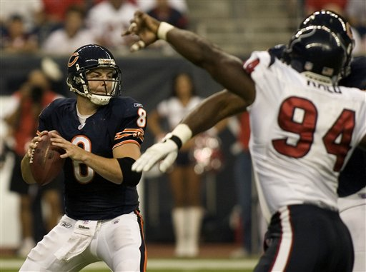 Rex Grossman Leads Chicago Bears over Houston Texans