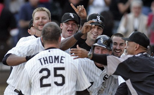 Jim Thome Hits 500th HR