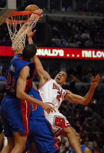 Bulls Beat Pistons 97-81