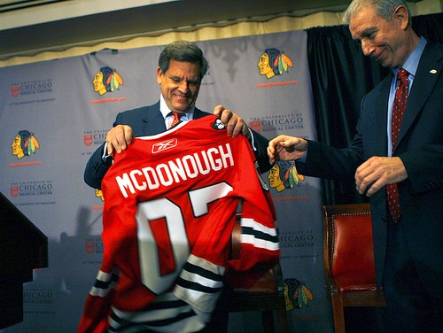 Wirtz and McDonough Restore Blackhawks Hockey