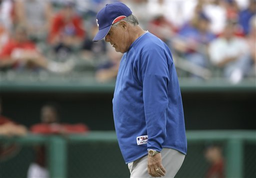 Lou Piniella Won't Be With Chicago Cubs in San Francisco