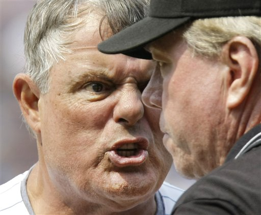 Lou Piniella is Clearly Pissed at Milton Bradley and Jim Hendry