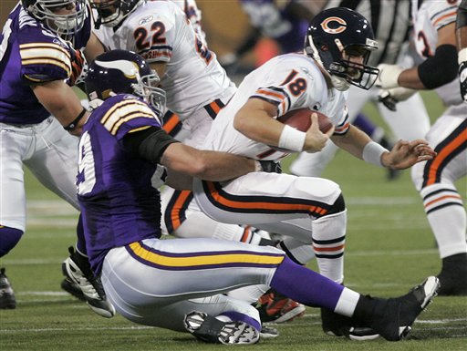 Chicago Bears Lose to Minnesota Vikings 34-14