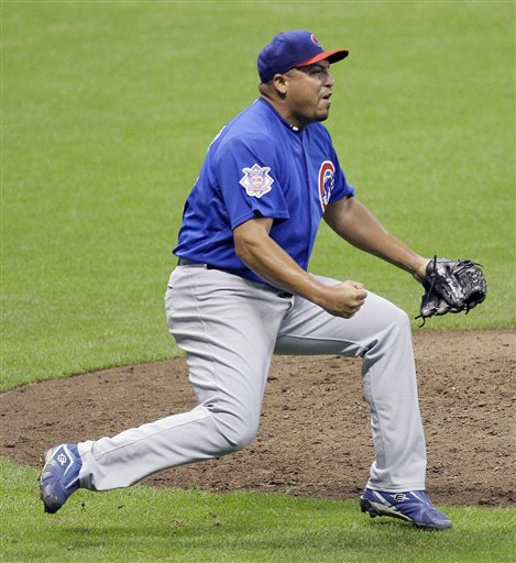 Zambrano hurls a no-hitter.