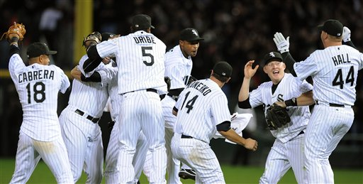 chicago white sox win 2008 al central division title